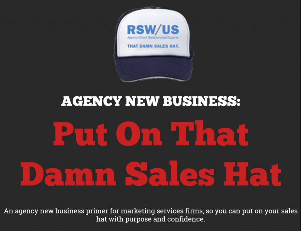 Put On That Damn Sales Hat eBook