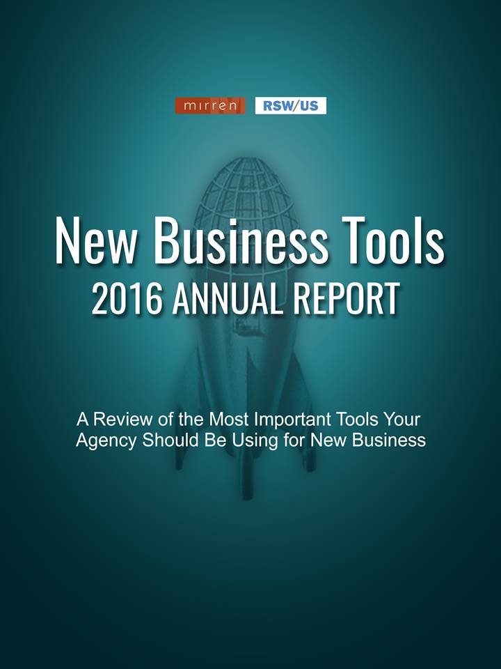 RSW/US-Mirren Agency New Business Tools-2016 Annual Report