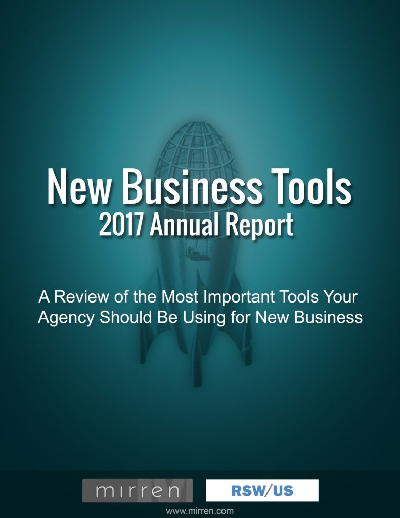rswus mirren 2017 agency new business tools report