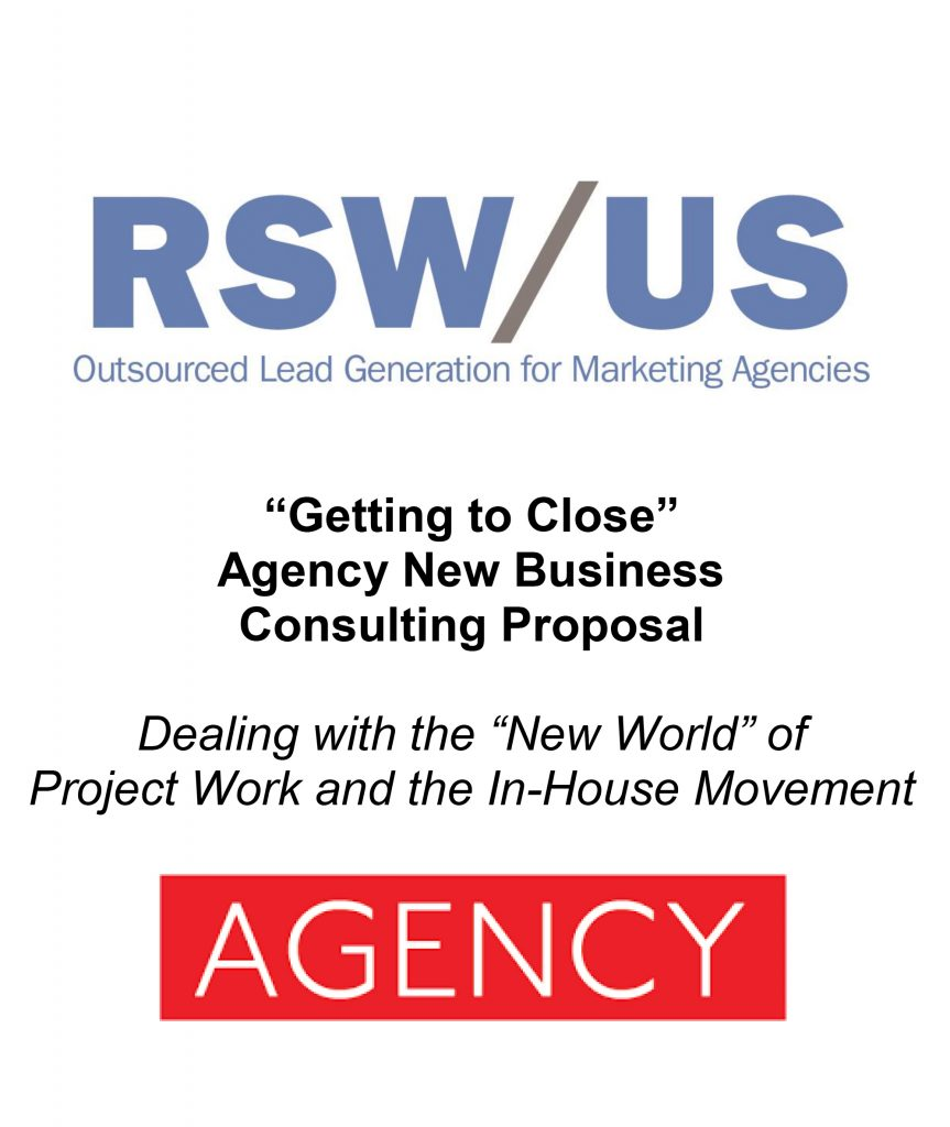RSWUS Consulting Proposal