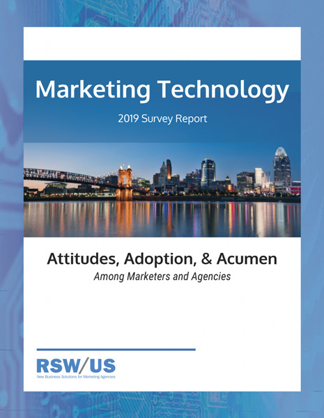 RSW/US 2019 Marketing Technology Survey Report