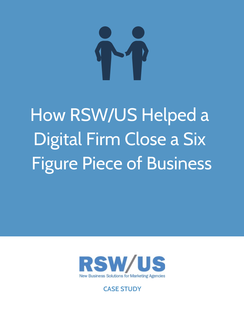 RSW Case Study: Food Ingredient Win For Digital Marketing Firm Located in the Northwest