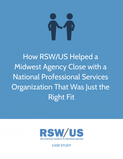 RSW Case Study-Integrated Agency Expert In Small Business Communications Located In The Midwest