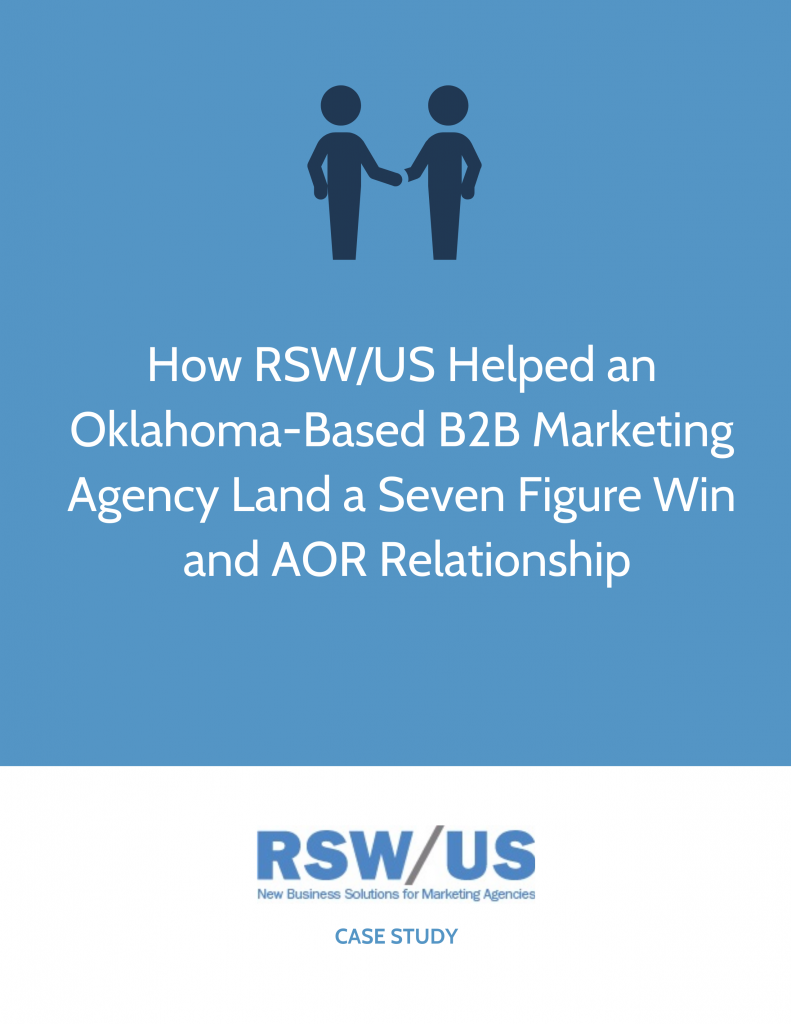 RSW Case Study B2B-Focused Marketing Agency Located in Oklahoma