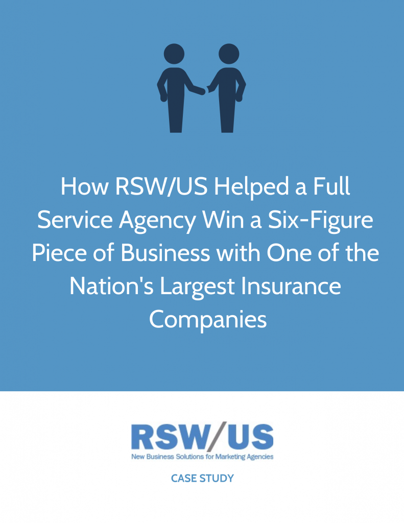 RSW Case Study-Insurance Focused Marketing Agency Located in Connecticut
