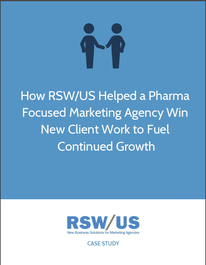 RSW Case Study-Pharma-Focused Marketing Agency Located in Pennsylvania