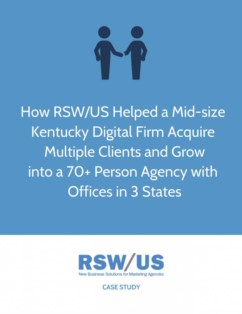 RSW Case Study-Mid-Sized Digital Firm Located in Kentucky