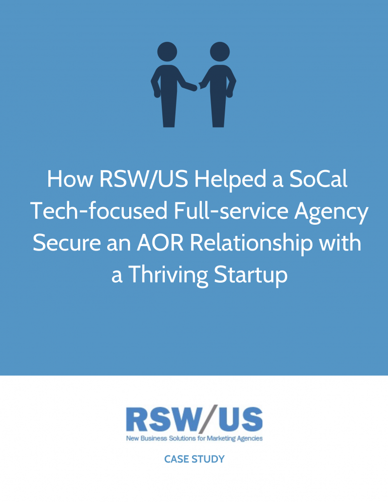 RSW Case Study-Tech-Focused Full Service Agency Located in SoCal